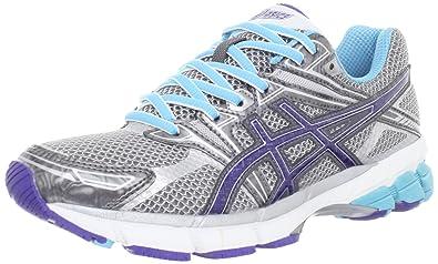 ASICS Women's GT-1000 Running Shoe,Titanium/Iris/Turquoise,6 D
