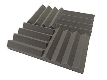 Lote de 24 planchas de espuma acústica (305 mm, 0.95 NRC), de Advanced Acoustics: Amazon.es: Instrumentos musicales