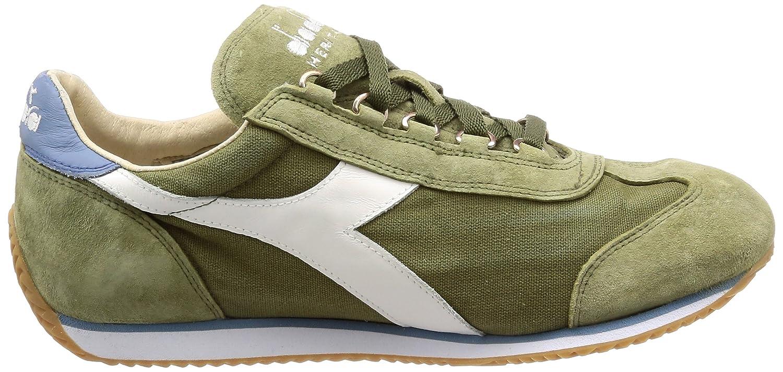 Diadora Heritage - Sneakers Equipe 12 Stone Wash 12 Equipe für Mann und Frau C7436 - Trockenes Gras Grün-blau Schattig 590cc0