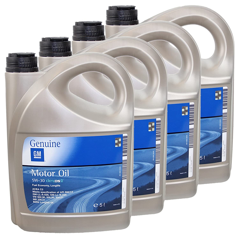 Opel dexos2 5 W30 aceite de motor 5 litros