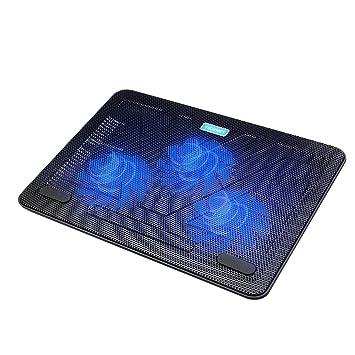 1f714672de82d TeckNet Refroidisseurs pc portable Ordinateur de 12 à 17 quot  Silencieux  Support ventilé pour Ordinateur Portable