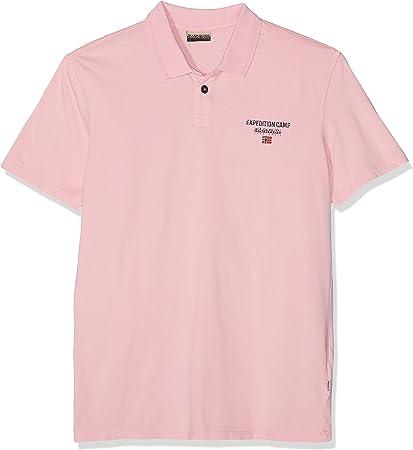 Napapijri Eonthe Pale Pink New Polo para Hombre
