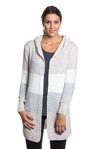 Abbino 0313 Suéters Cardigan con Tiras para Mujer - Hecho en ITALIA - 4 Colores - Fashion Tendencia ...