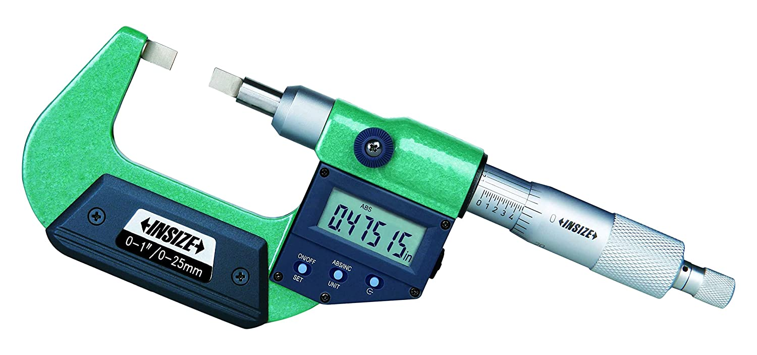 INSIZE 3532-50E Electronic Blade Micrometer 1-2