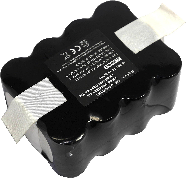 Power Smart® 14.4 V 3300 mAh NiMH batería para iRobot Indream 9200 ...