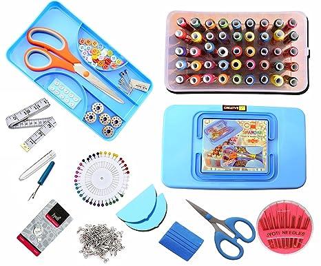 CreativeVia Mega SW04 Multipurpose Sewing Accessories Sewing Kit Tailor Kit Sewing Sets   Kits