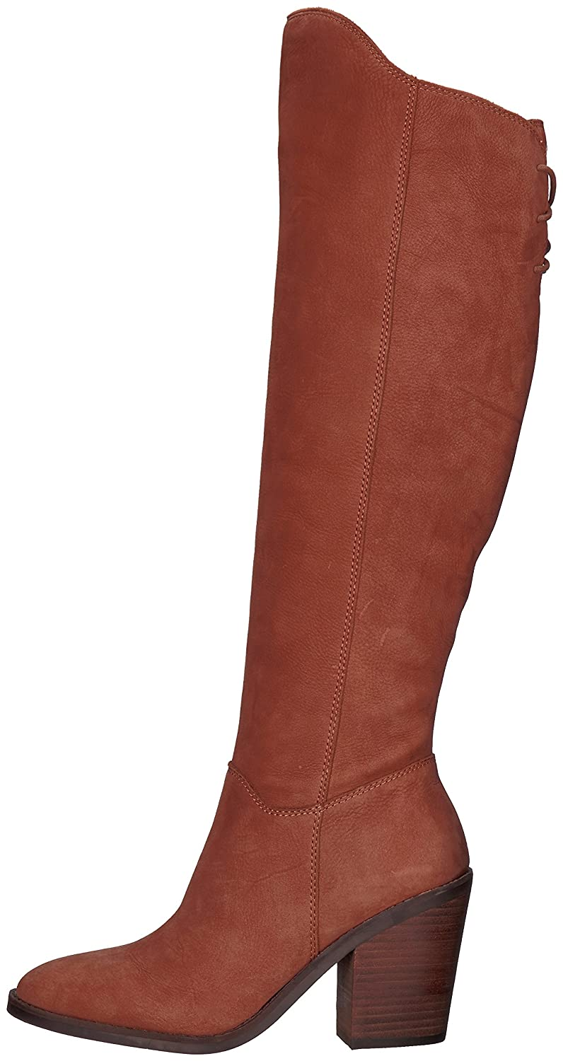 Lucky Brand Women's Pembe Knee High Boot B06XD2NXF9 10 M US|Toffee