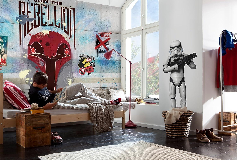 Komar Star Wars Rebels Wall Wallpaper Mural Vinyl Multi Colour 368 X 0 2 X 254 Cm Amazon Co Uk Kitchen Home