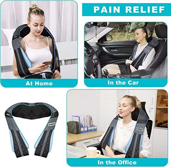 Gift for Women Men Mom Dad- Electric Full Body Massager for Home Office Car Use