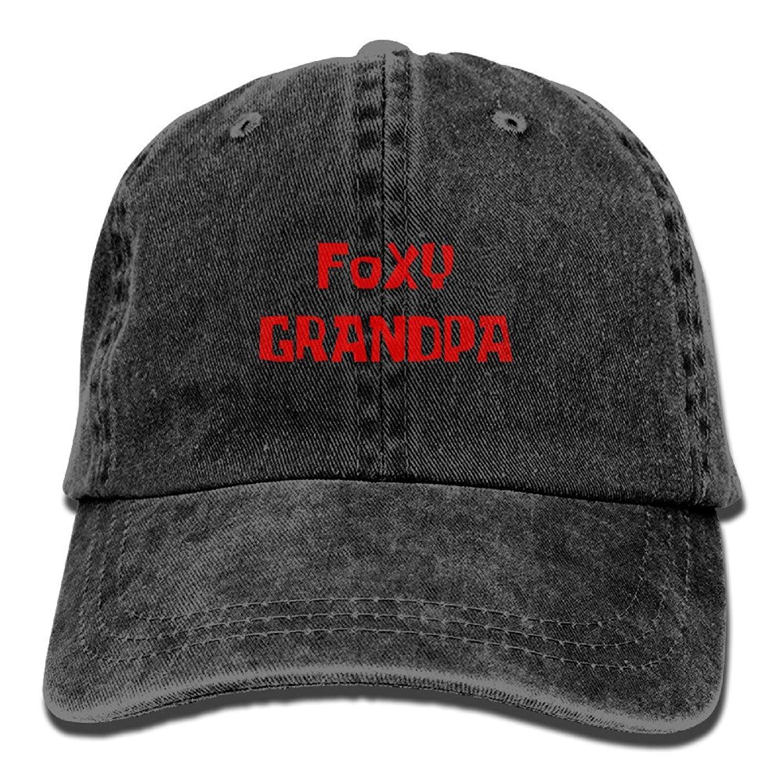 Foxy Grandpa Unisex Adult Adjustable Cowboy Dad Hats JTRVW Cowboy Hats