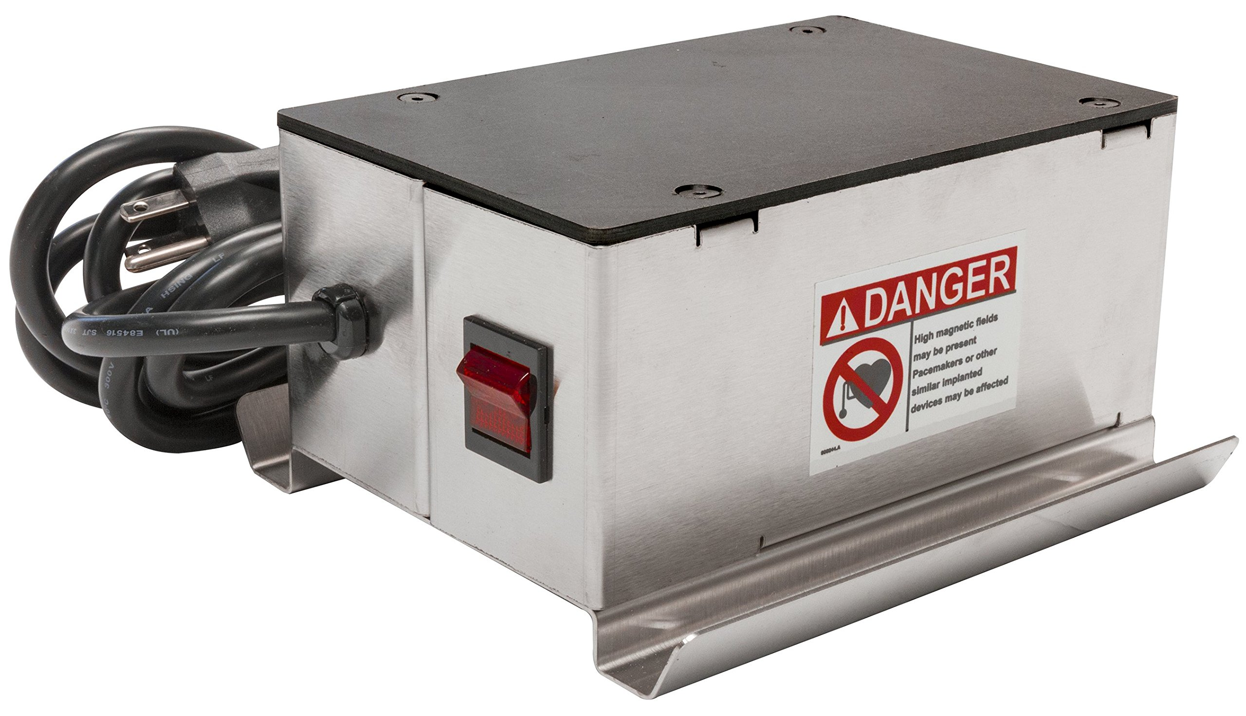 MAG-MATE DSC423-120 Continuous Duty Surface Demagnetizer with Cord Plug, 120 VAC/2.1 Amp/6'