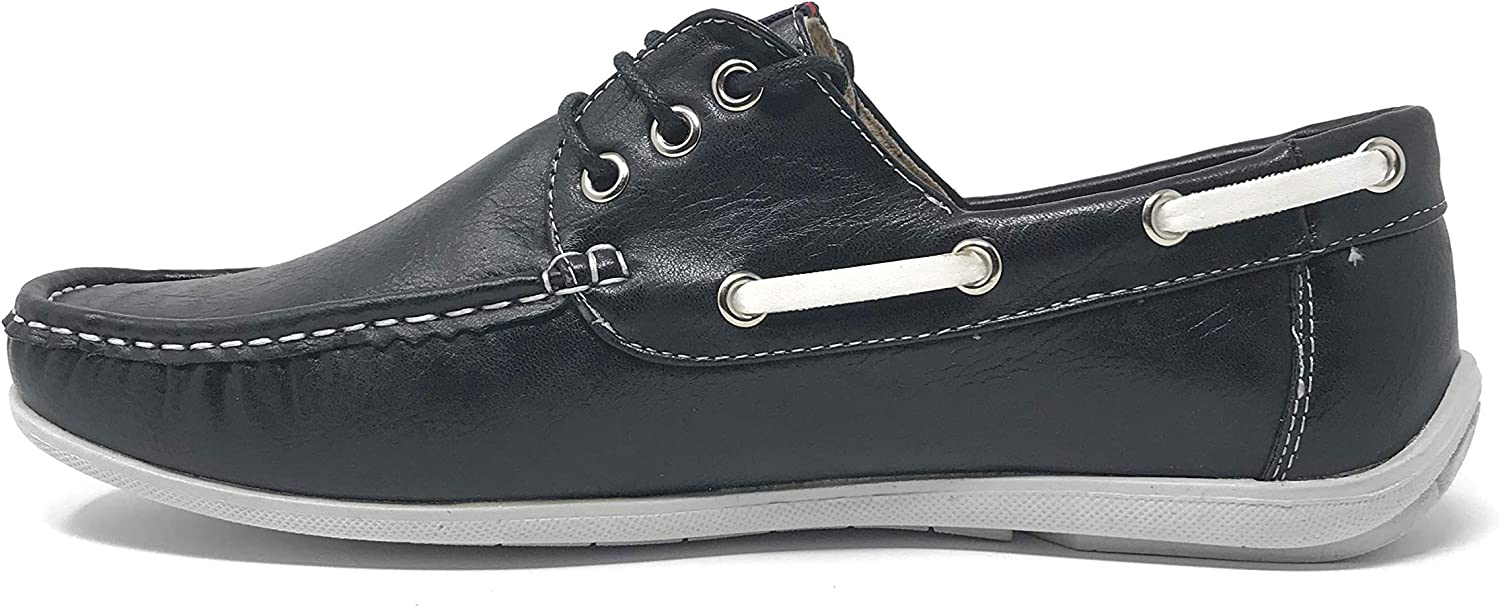 Classic Sports Light Weight Mens Stylish Smart Casual Outdoor Boat Deck Lace-Up Flat Shoes Extra Comfort Footwear