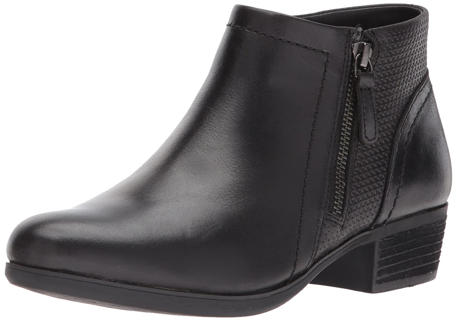Cobb Hill Women's Oliana Panel Ankle Boot B06X14QL82 9 B(M) US|Black Pull Up Lthr
