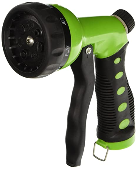 Charmant Hose Nozzle / Hand Sprayer   7 Spray Settings Water Saving Plastic Garden  Hose End Sprayer