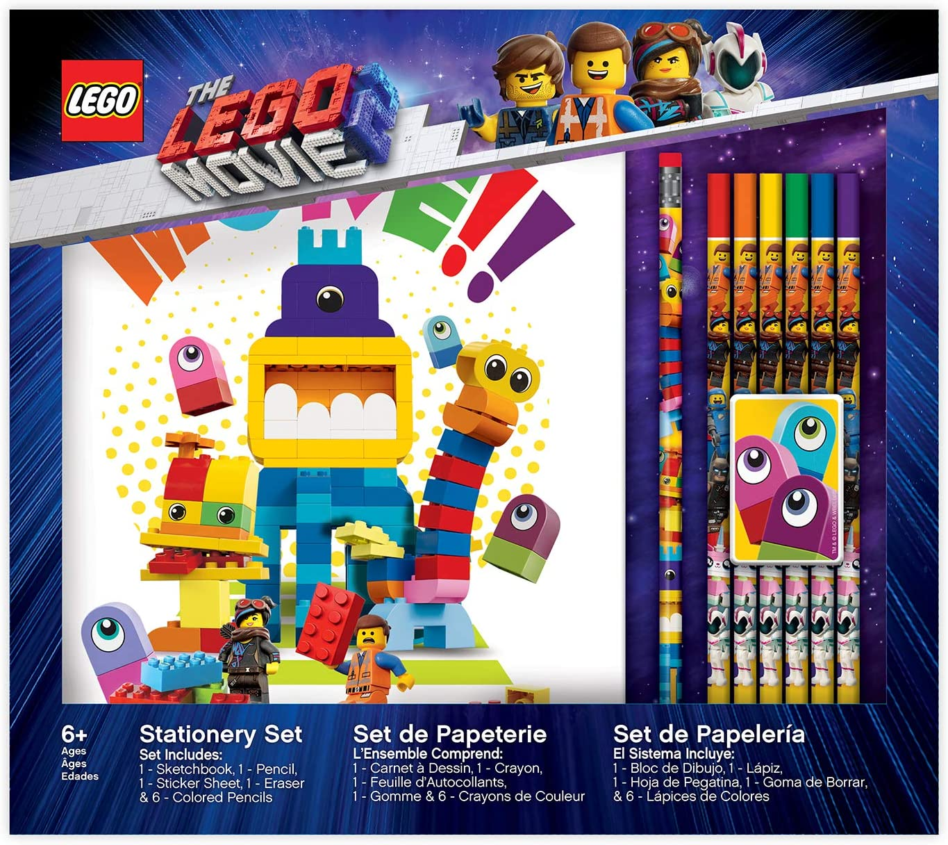 LEGO Ninjago Stationery Boxed Set with Sketchbook
