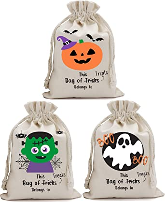 Boy Bag Halloween Tote Trick or Treat Bag Halloween Bag Trick or Treat Pumpkin Halloween Tote Bag Halloween Bag Girl Bag