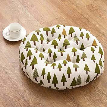 Amazon.com: Uther redondo de algodón Asiento almohadillas ...