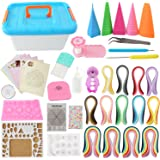 Quilling Kit Complete Quilling Paper Set with 1940 Strips All Necessary Tools and Storage Box Suitcase for Beginners, Advanced Quiller, Kids and Adults