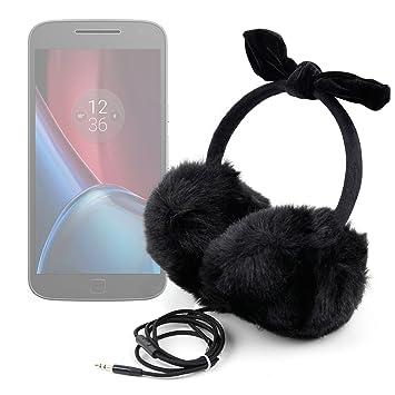 DURAGADGET Auriculares de Diadema Acolchados para Smartphone ...