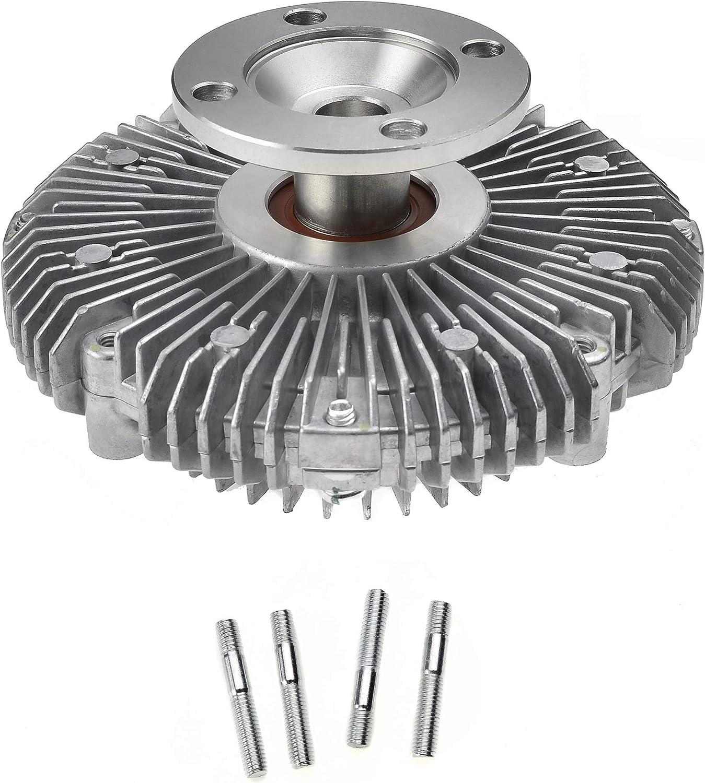 ADIGARAUTO 2657 Premium Engine Cooling Fan Clutch Compatible With 75-92 TOYOTA LAND CRUISER 88-94 TOYOTA 4RUNNER PICKUP 92-97 ISUZU TROOPER 96-97 ACURA SLX