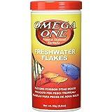 Omega One Freshwater Flakes, 2.2 oz.