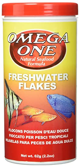 Amazon.com : Omega One Freshwater Flakes 2.2oz. : Pet Food : Pet Supplies