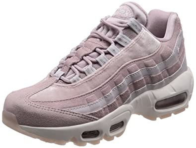 newest collection 5b157 79ec6 Nike WMNS Air Max 95 LX, Chaussures de Fitness Femme, Multicolore (Particle  Rose