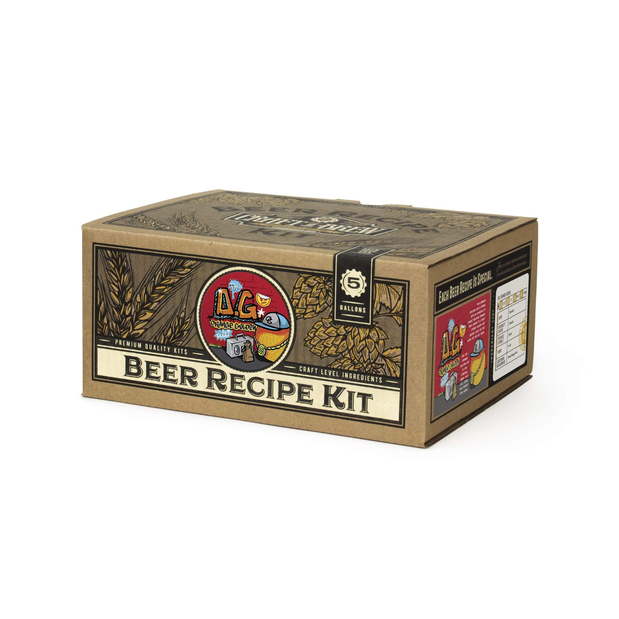 Craft A Brew - Home Brewing Ingredient Kit (5 Gallons) (O.G. Orange Golden Beer)