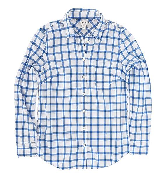 c8562e29 J.Crew Mercantile Womens Flannel Shirt Button Down Shirt: Amazon.ca ...