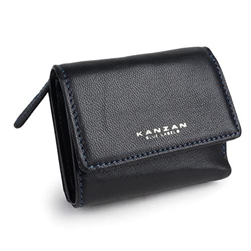 b24720c31bd8 Amazon | [カンザン]三つ折り財布 メンズ ファスナー 紳士 財布 男性 本 ...