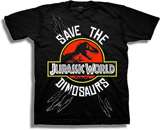 Jurassic World Dinosaur Breach Kid/'s T-Shirt