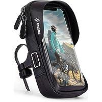 ONEFLOW Mobiele telefoonhouder, fietsstuurtas, waterdicht, voor Samsung S-serie, fietshouder, 360 graden draaibaar…