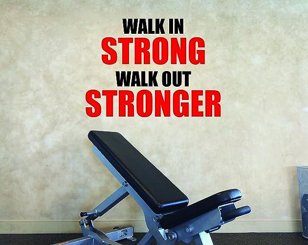 Amazon.com: Gym Decorating Ideas, Gym Wall Decal, Gym Motivation ...