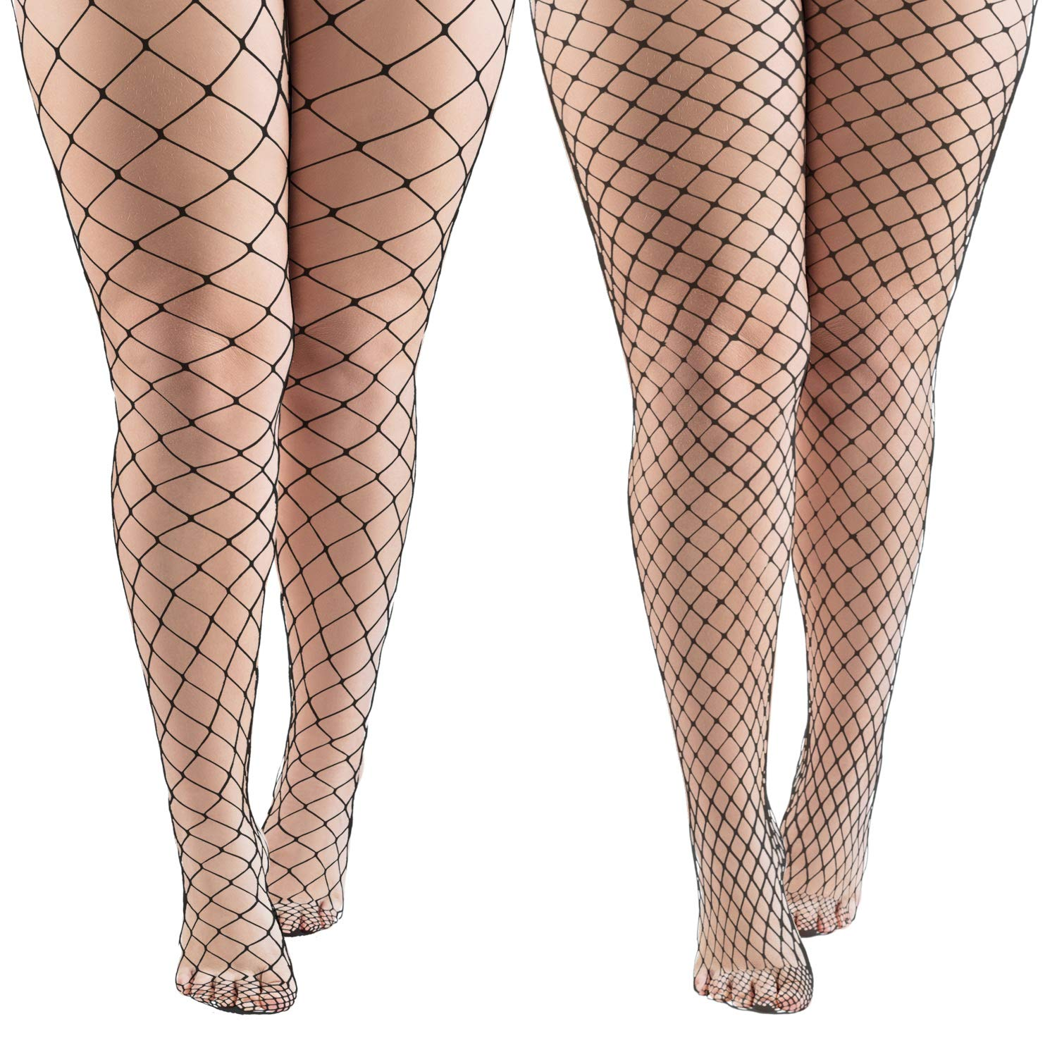 4b5decc8f Aneco 4 Pairs Black Fishnets Tights Sexy Fishnet Pantyhose Stockings Fishnet  Cross Mesh Stockings for Women at Amazon Women s Clothing store