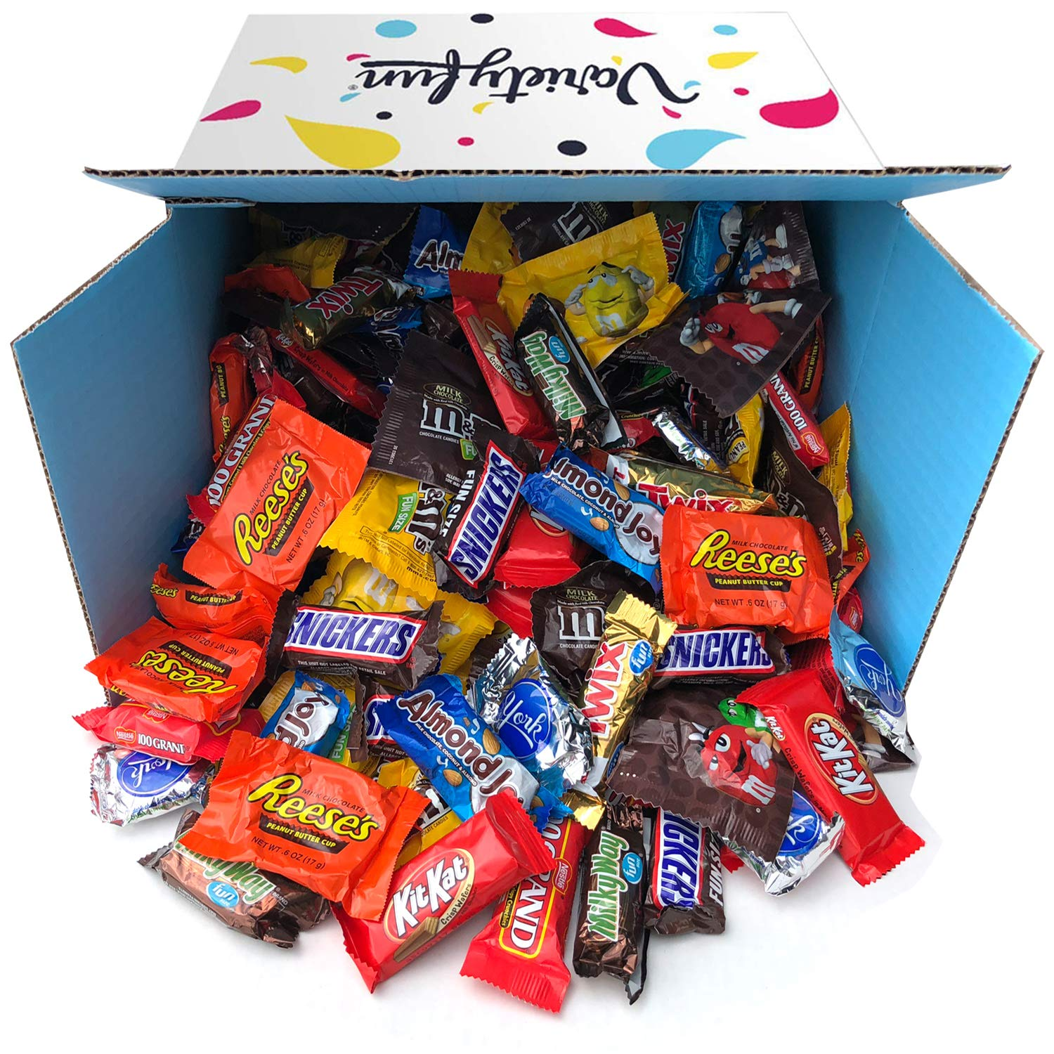 Amazon.com : Snack Chest Assorted Candy Party Mix Bulk ...