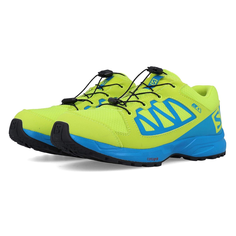 Vert Bleu Salomon XA Elevate CSWP J, Chaussures de Sport Mixte Enfant 33 EU