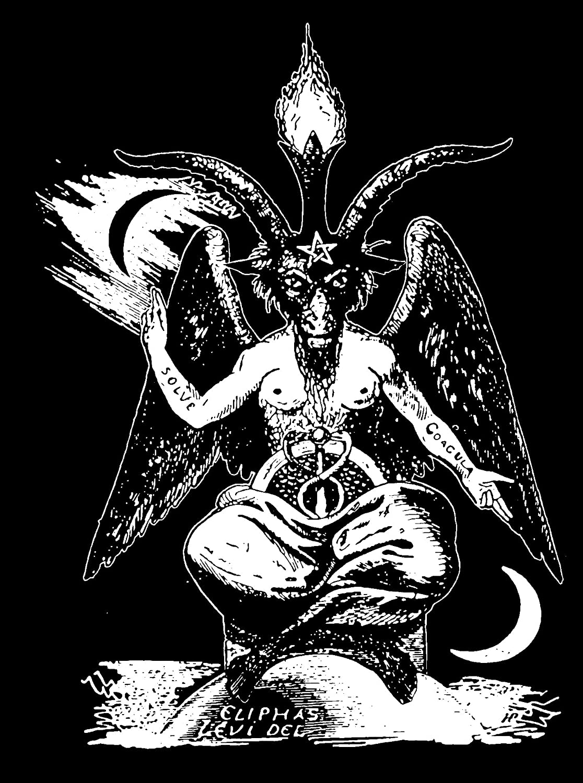 Horror witchcraft Demon 666 Occult Satan Baphomet Necklace Pendant Witch Lucifer Devil Satanic Wiccan