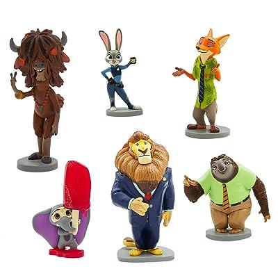 Disney Zootopia 6 Figure Play Set: Toys & Games