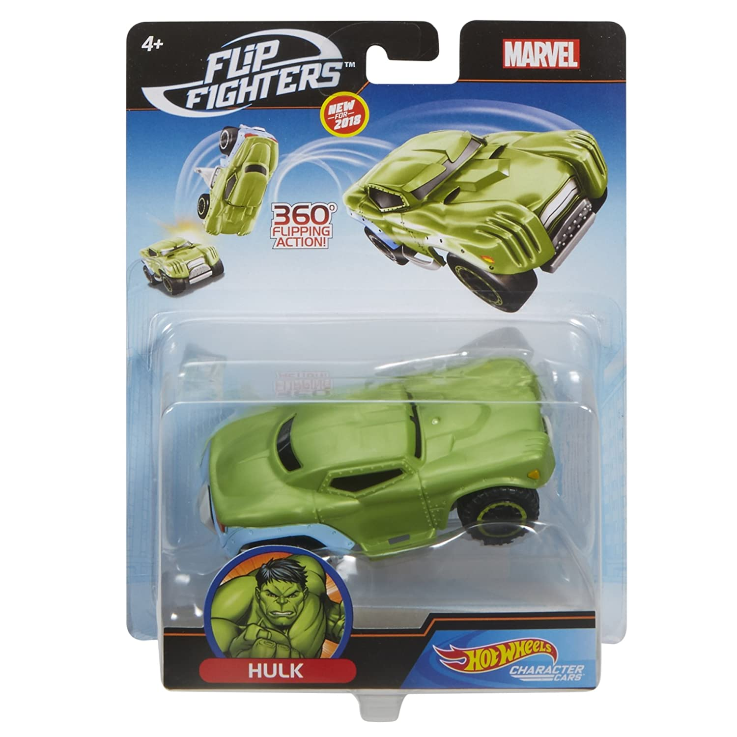 vast selection classic shoes usa cheap sale Mattel Hot Wheels flm73 Hot Wheels Marvel Flip Fighters Car ...
