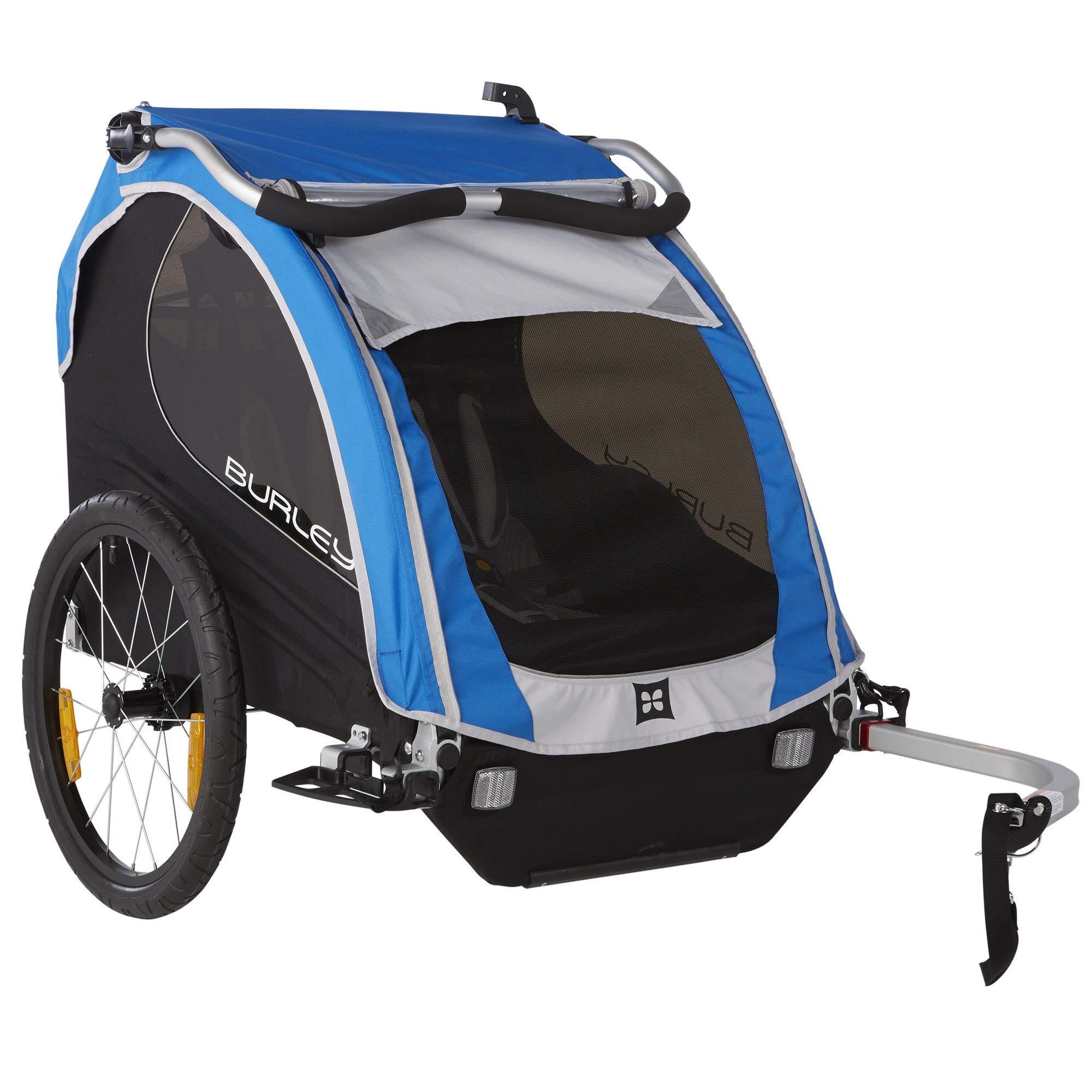 Burley Design Encore Child Bike Trailer, Blue (Renewed)
