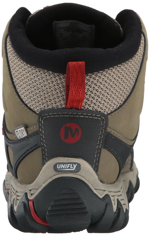Merrell Women's Mid All Out Blaze Vent Mid Women's Waterproof Hiking Shoe B00YBEGQOA 5.5 B(M) US|Brown 47934d