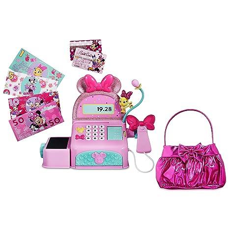 a0c14903b99 Amazon.com  Disney Minnie Mouse Sound Effects Cash Register Set  Toys    Games