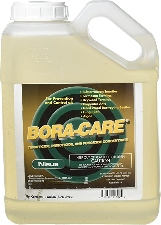 Amazon Com Bora Care 1 Jug Natural Borate Termite Control Ni1001 By Nissus 1 Gallon Pet Supplies