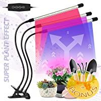 LED Grow Light for Indoor Plants - Lamps IR & UV Red and Blue Spectrum for Plant Succulents, Micro Greens, Seedlings…