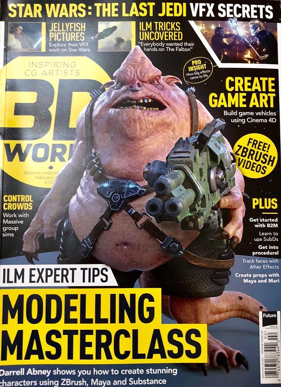3D WORLD MAGAZINE, FEBRUARY 2018 NO. 230 s3457