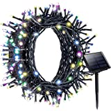 Litom Solar Outdoor 200 LED String Lights Solar Multi-color Decorative Light with 8 Working Modes