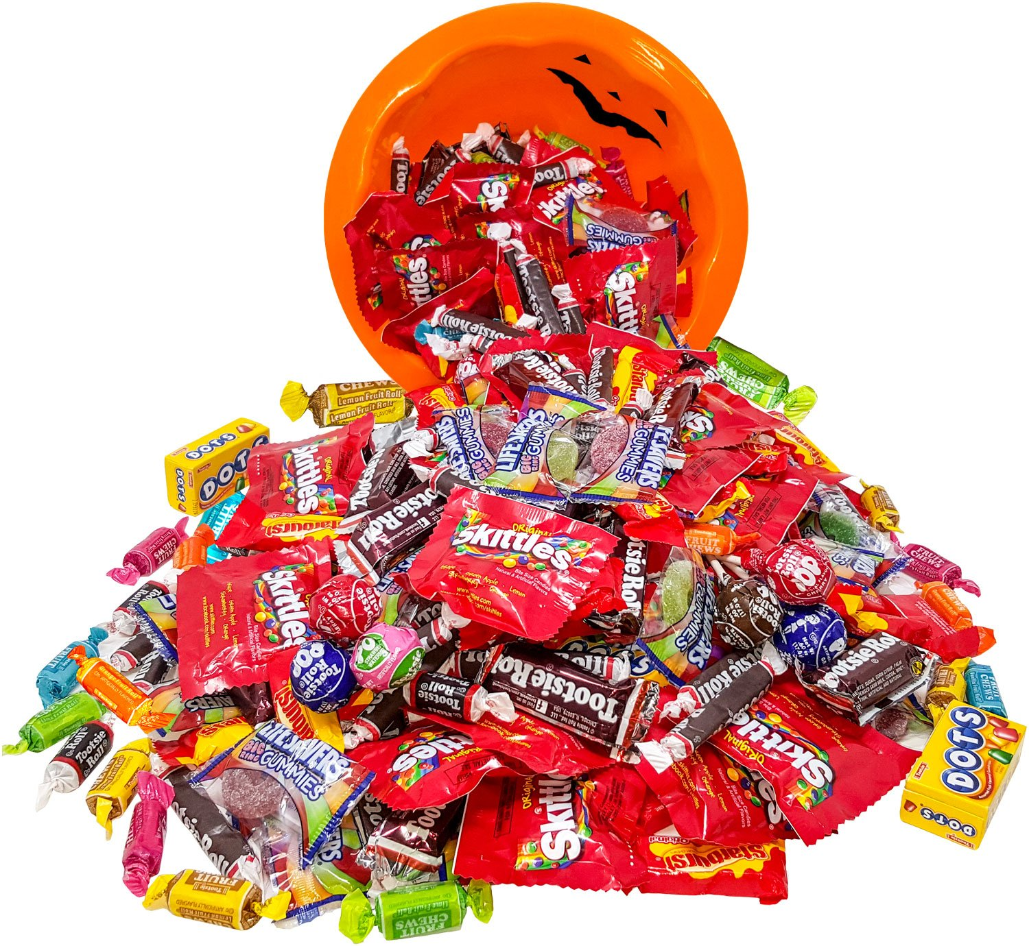 Assorted American Candy Classics Over 13 Favorite Flavors 11 Lb Variety Bulk Value Pack Skittles Tootsies Starburst Lifesavers Gummies And More (176 oz) by Assortit (Image #7)