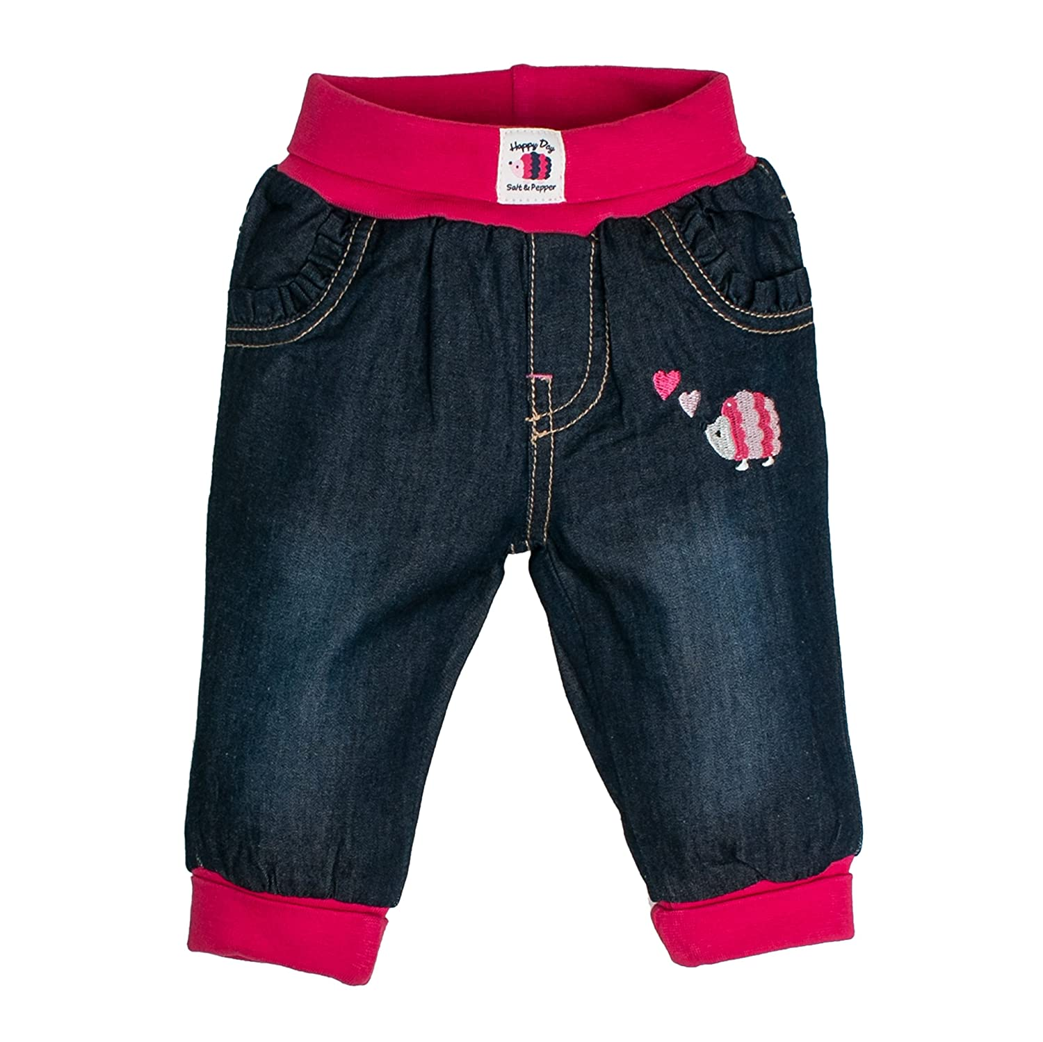 Salt & Pepper NB Jeans Happy, Bébé Fille SALT AND PEPPER 75220207