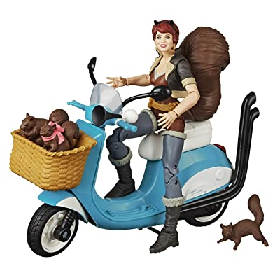 Marvel Legends Squirrel Girl on Scooter: Toys & Games