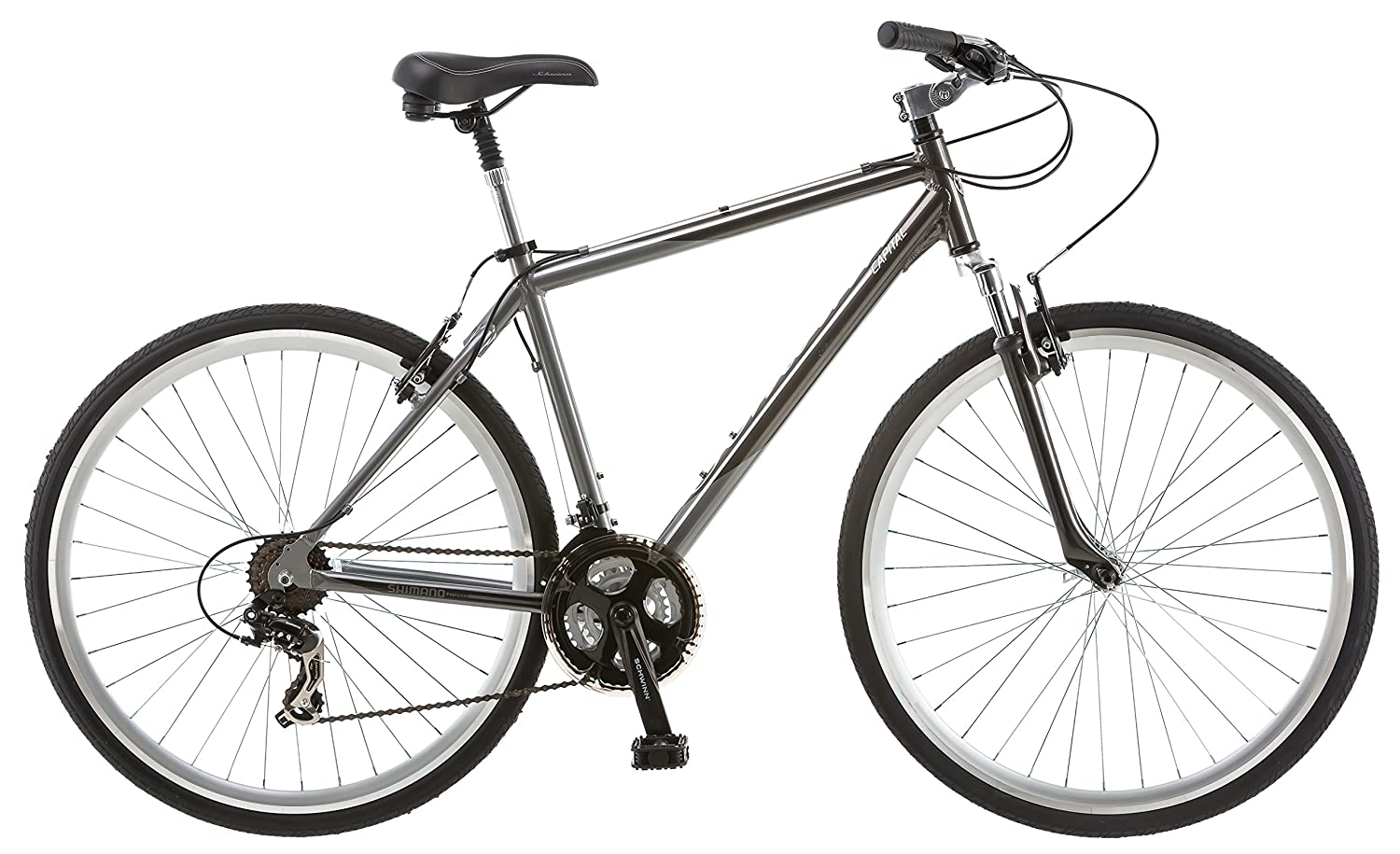 Schwinn Capitol 700c Men's Hybrid Bicycle